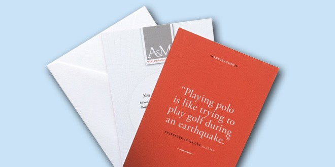 A&M Wealth Management Stationery
