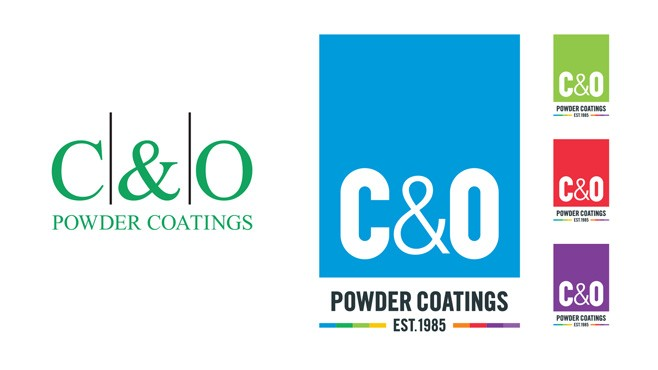 C&O Powder Coatings Logo