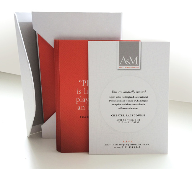 A&M Wealth Invitations