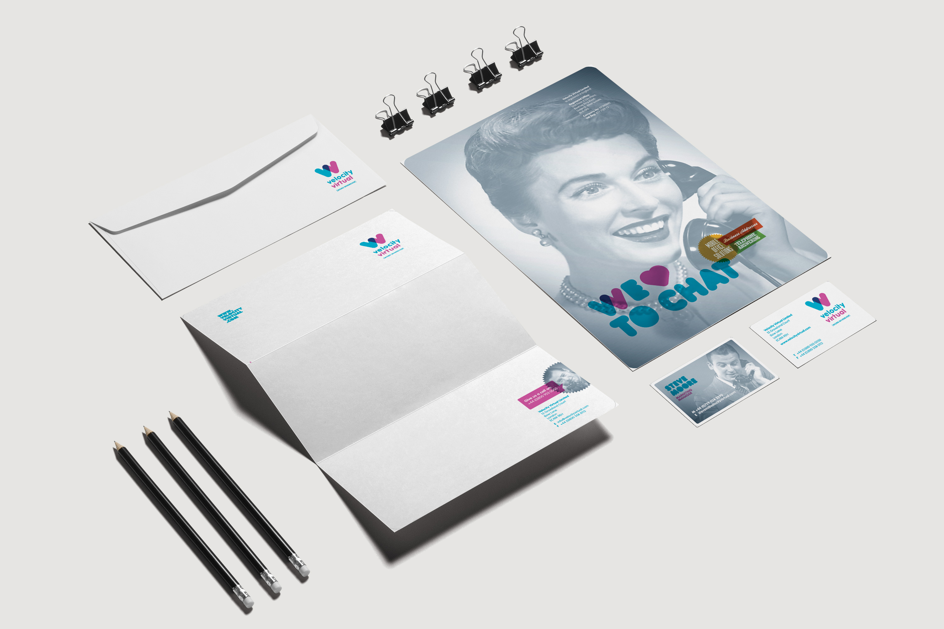 Velocity Virtual Stationery
