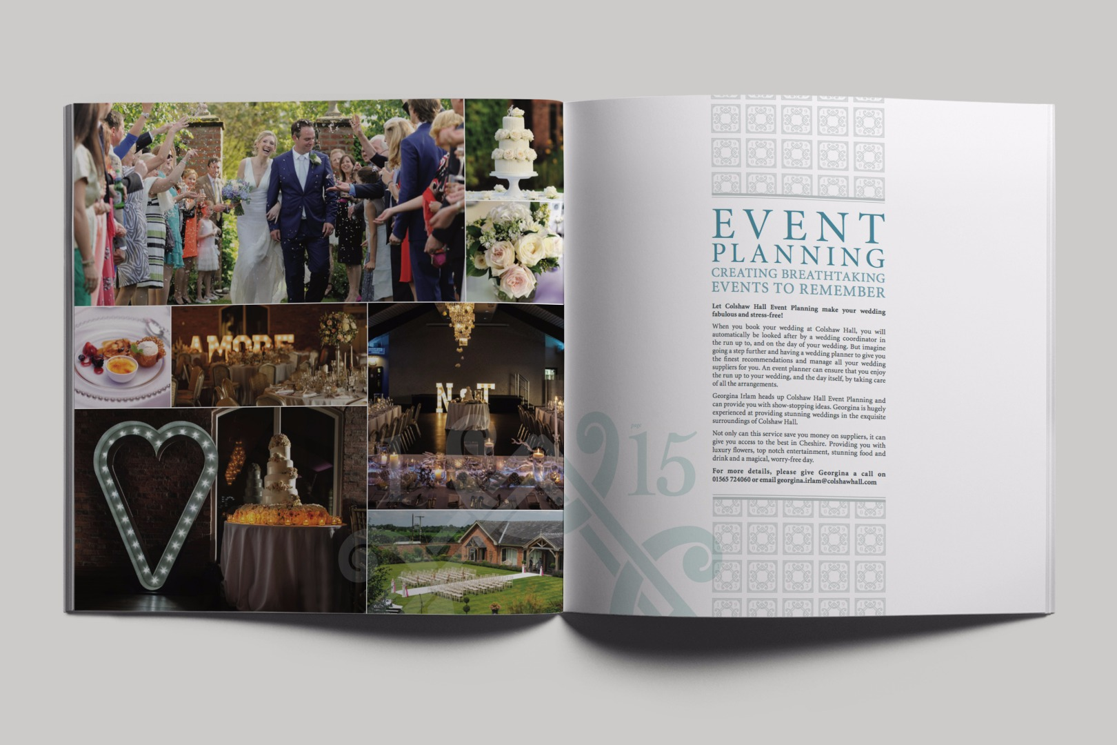 Colshaw Hall Event Brochure