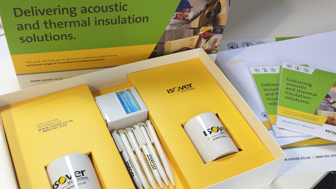 Isover Welcome Kit Items