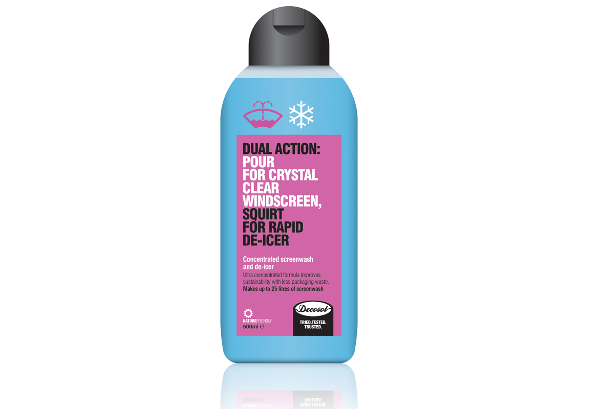 Decosol Concentrated Screenwash and De-Icer