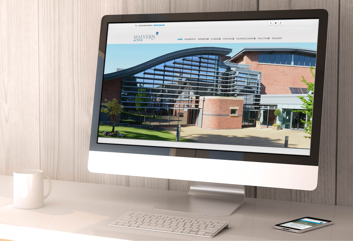 Malvern Active Website