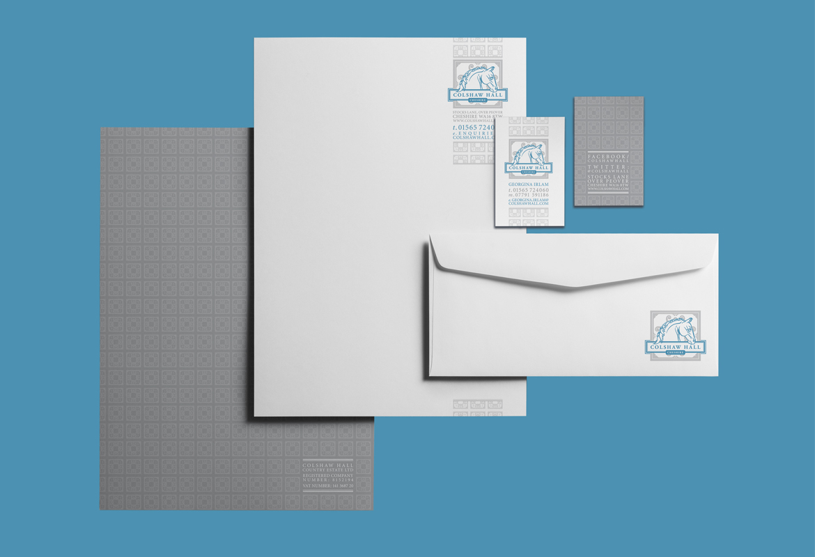 Colshaw Hall Stationery