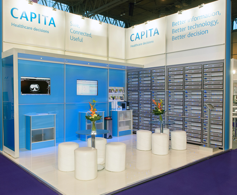 Capita Exhibtion Stand