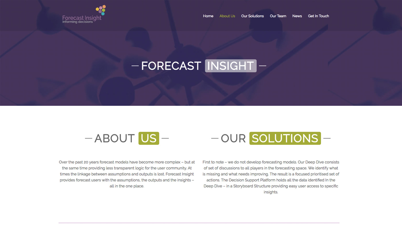 Forecast Insight About Us